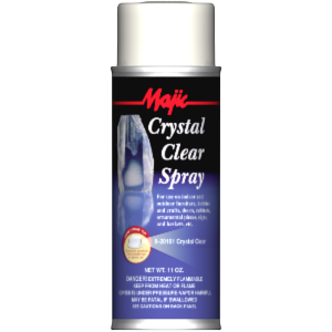 Poster board clear spray
